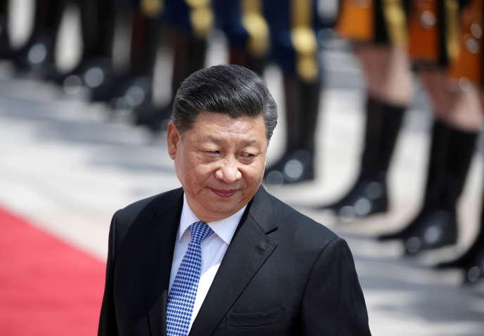 Xi Jinping, à Pékin le 14 mai.