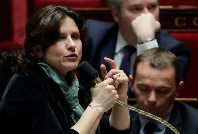 La ministre des sports, Roxana Maracineanu, à l'Assemblée nationale, le 21 mai.