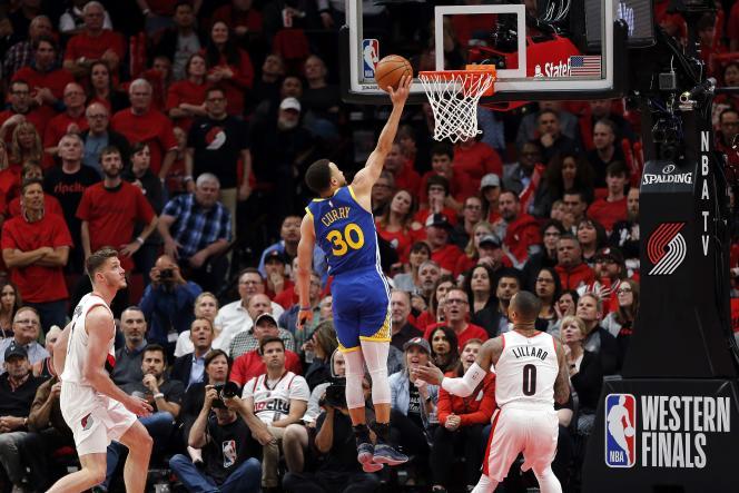 En l'absence de Kevin Durant, Stephen Curry a porté Golden State vers la finale NBA.