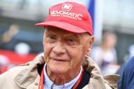 Le champion de Formule 1 Niki Lauda en 2016 en Autriche.