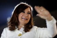 Cristina Kirchner, le 9 mai 2019 à Buenos Aires.