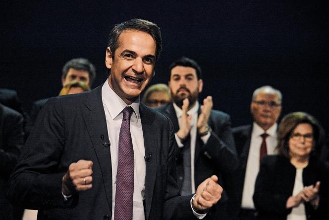 Kyriakos Mitsotakisdu parti Nouvelle Démocratie est le grand favori des législatives anticipées prévues fin juin ou début juillet.