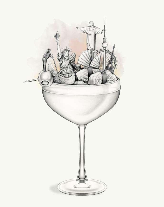 Cocktails: les routes de la soif