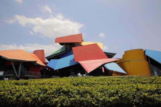 Le musée de la biodiversité imaginé par l'architecte Frank Gehry a été inauguré en2014, au Panama.