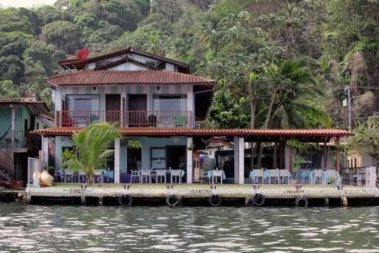 le restaurant de la Casa Congo, au Panama.