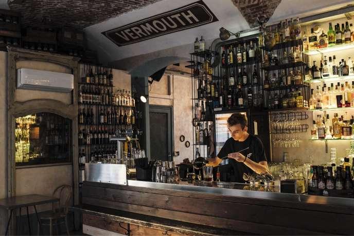 Americano, Sunshine Negroni… Le bar-restaurant Affini propose de nombreux cocktails à base de vermouth.