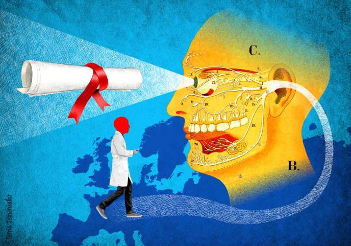 Etudes de médecine: l'hypocrisie française