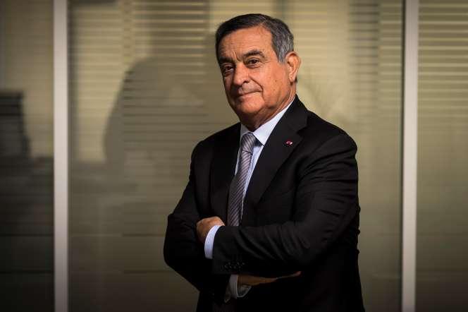 Le président de la Haute autorité pour la transparence de la vie publique, Jean-Louis Nadal, dans son bureau, à Paris, le 23 mai 2018.