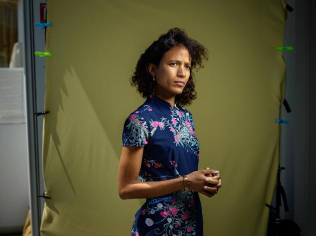 Mati Diop, réalisatrice d'«Atlantique», le 16mai.