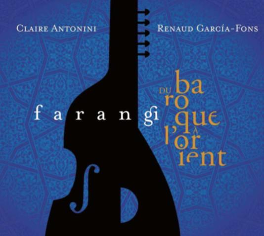 Pochette de l'album «Farangi», de Renaud Garcia-Fons et Claire Antonini.