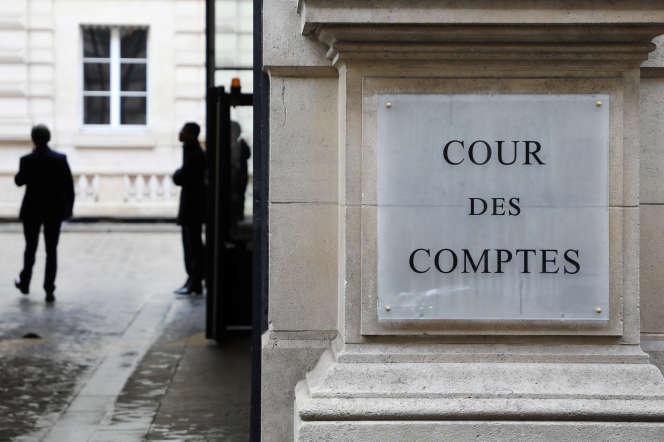 Le bâtiment de la Cour des comptes à Paris, en 2018.