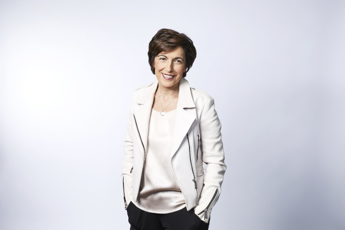 La journaliste Ruth Elkrief , co-anime jeudi 23 l'«Europe l'heure du choix: l'ultime débat », sur BFMTV à partir de 20 h 45.