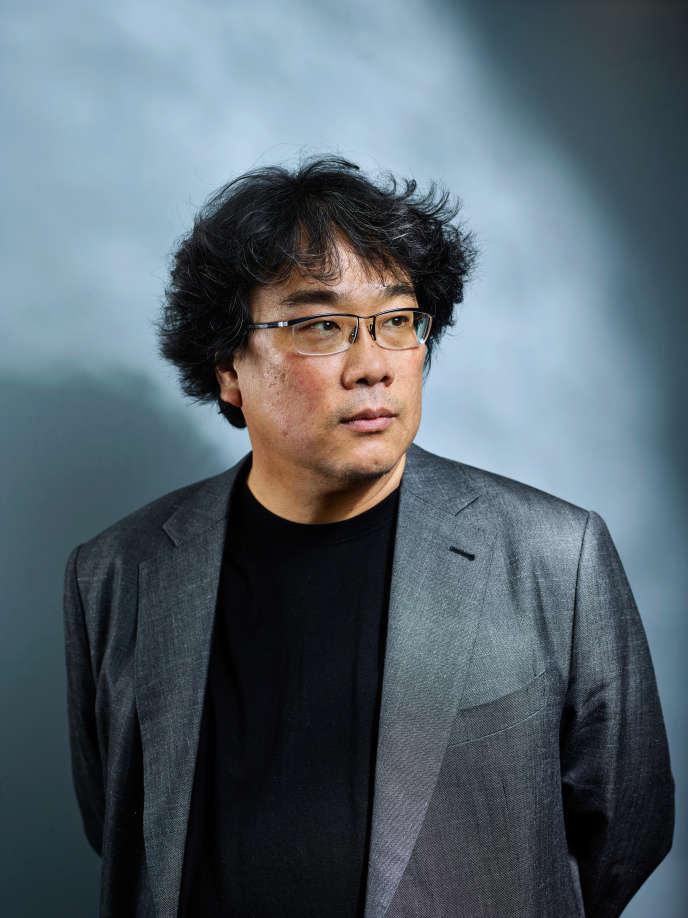 Le réalisateur sud-coréen Bong Joon-ho, à Cannes, le 22 mai.