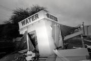 Une ancienne station d'eau potable, à Maricopa, au sud de Phoenix (Arizona).