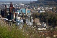 L'usine d'Hayange, en Moselle, en mars 2017.