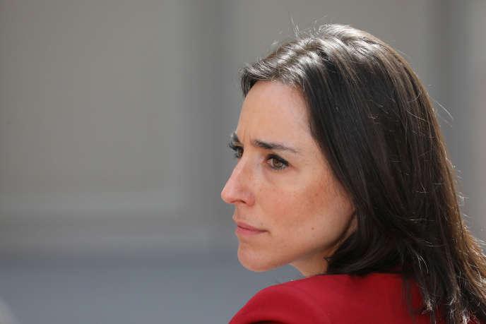 La secrétaire d'Etat à la transition énergétique,Brune Poirson, le 23 mai 2019 à Paris.
