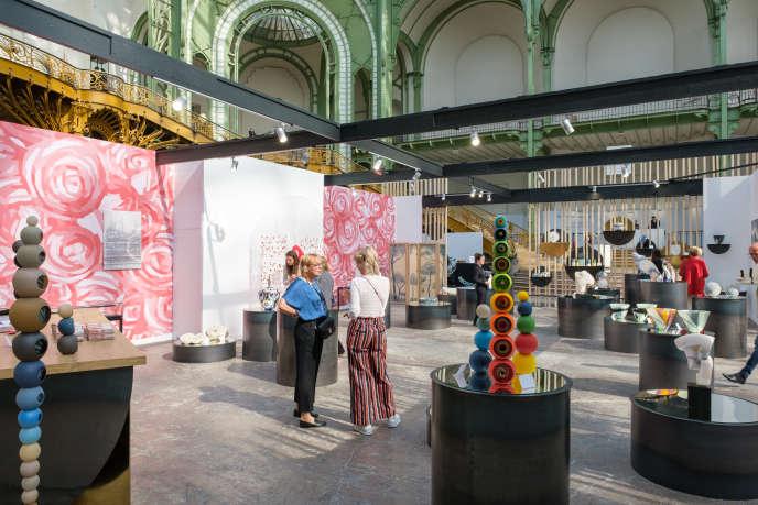 Le salon Révélations, au Grand Palais.