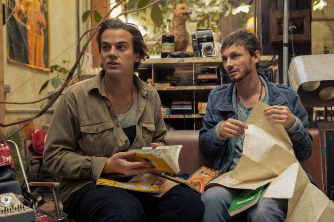 Corto Vaclav et Hadrien La Vapeur, les deux réalisateurs de« Kongo», présenté dans la section ACID au 72e Festival de Cannes.