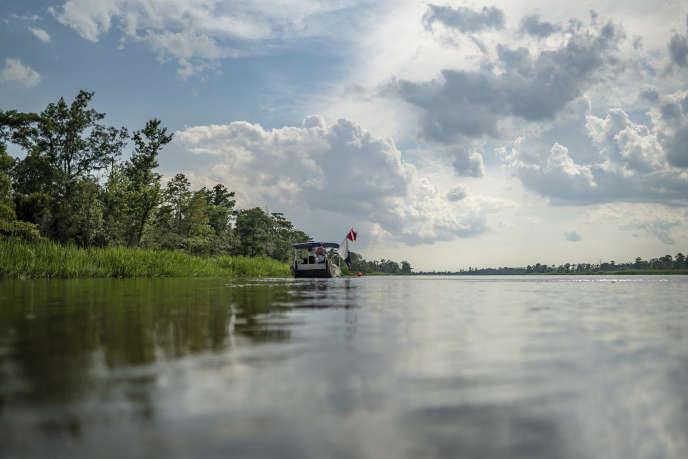 L'épave du« Clotilda» a été retrouvée par une équipe d'archéologues sous-marins, dans un bras du fleuve Mobile.