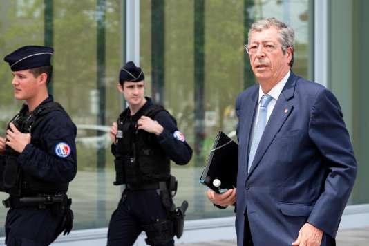 Patrick Balkany arrive au Palais de justice de Paris, le 22 mai.