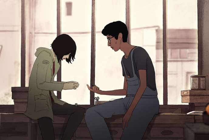 Photo extraite du film « J'ai perdu mon corps», de Jérémy Clapin.