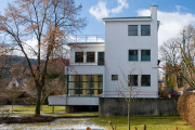 La villa Auerbach, à Iéna, construite par Walter Gropius en 1924.