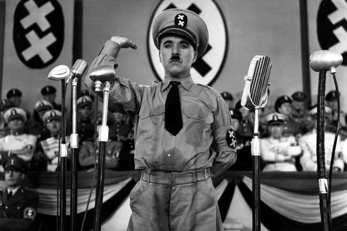« Le dictateur » de Charlie Chaplin tourné en 1940.