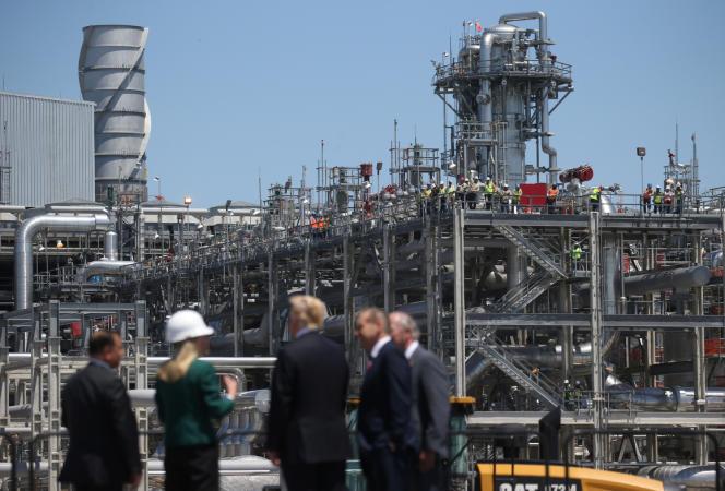 Le président des Etats-Unis, Donald Trump, a inauguré, le 14 mai 2019, un nouveau terminal, le Cameron LNG, en Louisiane.