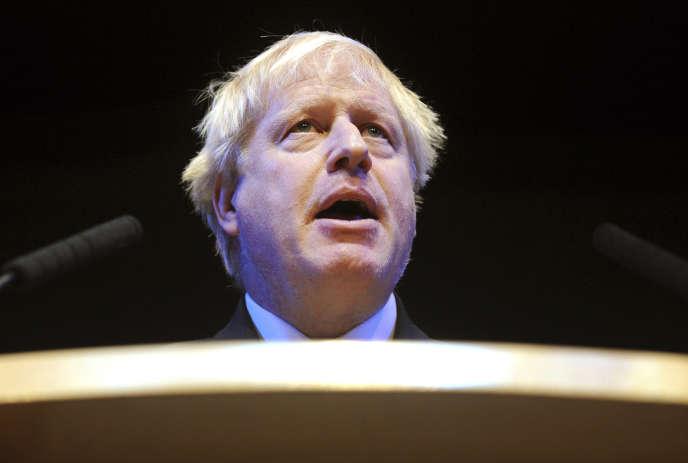 Boris Johnson, le 2 octobre 2018.