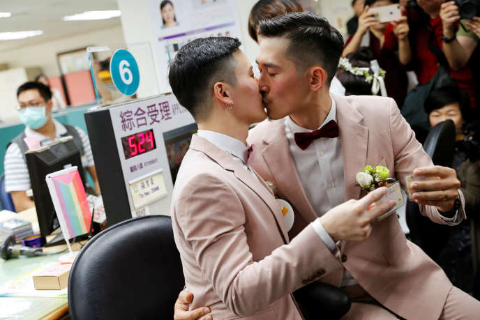 Shane Lin et Marc Yuan se sont mariés vendredi 24 mai à Taïwan.