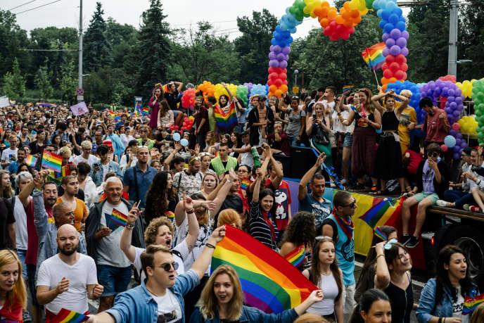 La Gay Pride de Sofia, le 9 juin 2018.