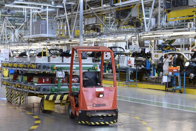 L'usine du groupe Renault de Valladolid, en Espagne, le 27 septembre 2017.