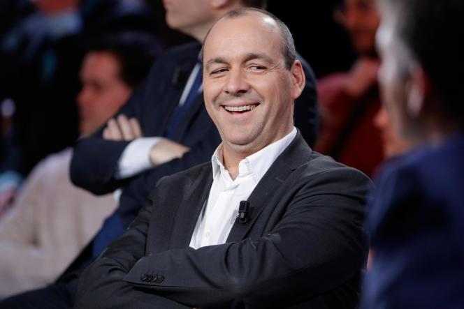 Laurent Berger, numéro un de la CFDT, le 24janvier 2019.