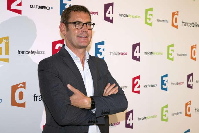 Francis Letellier anime le Soir 3 depuis 2016.