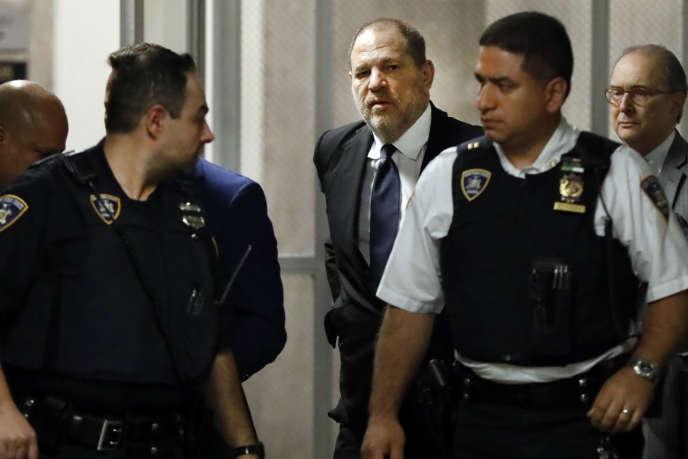 Harvey Weinstein lors d'une audience à New York, le 26 avril.
