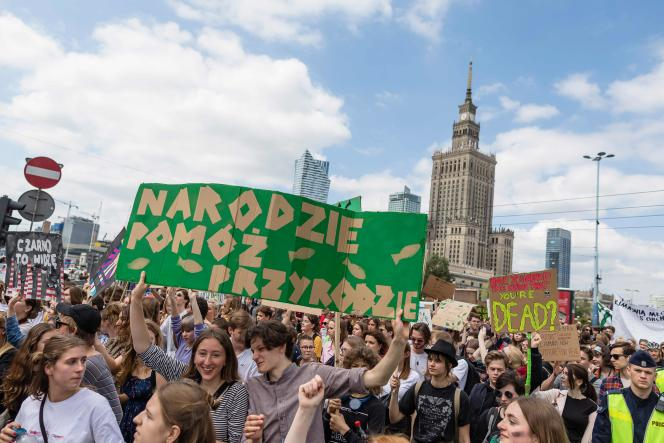 A Varsovie.