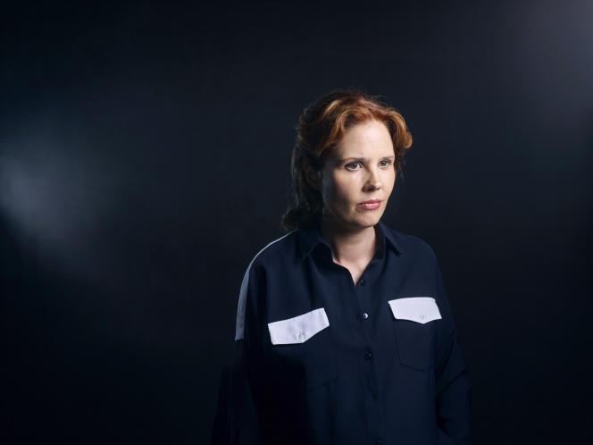 Justine Triet, réalisatrice de « Sibyl», à Cannes, le 23 mai.