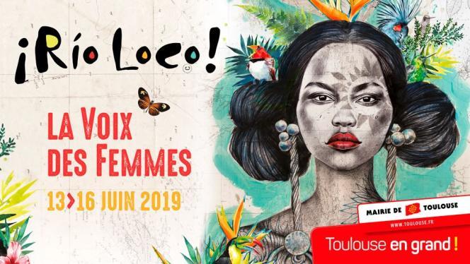 Affiche du festival Rio Loco à Toulouse.