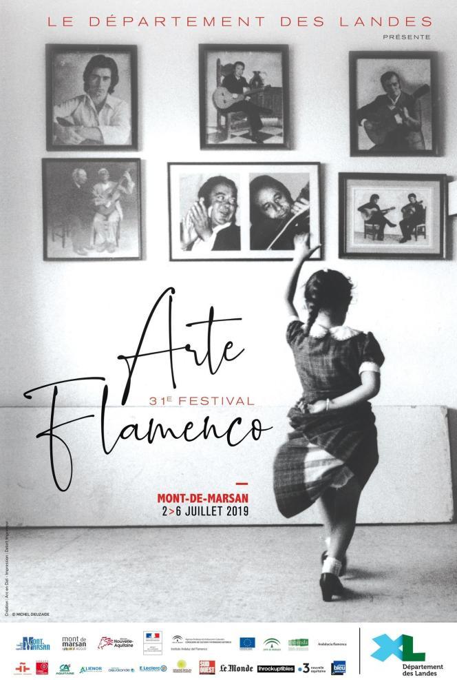 Affiche du festival Arte Flamenco, à Mont-de-Marsan (Landes).