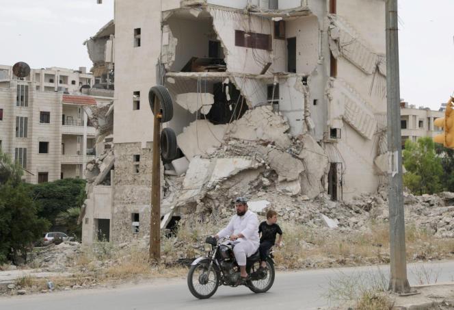 A Idlib (Syrie), le 24 mai.
