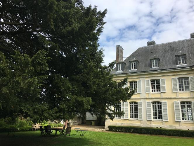 La maison d'André Gide, à Cuverville.