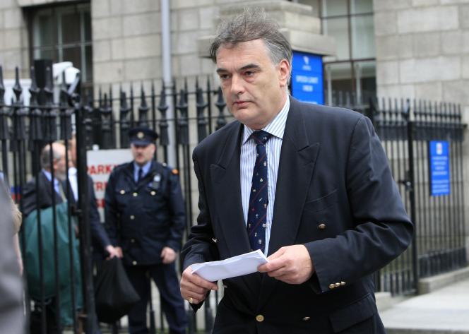 Ian Bailey, à Dublin, le 24 avril 2010.