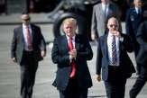 Donald Trump défend la thèse d'un complot visant à lui nuire