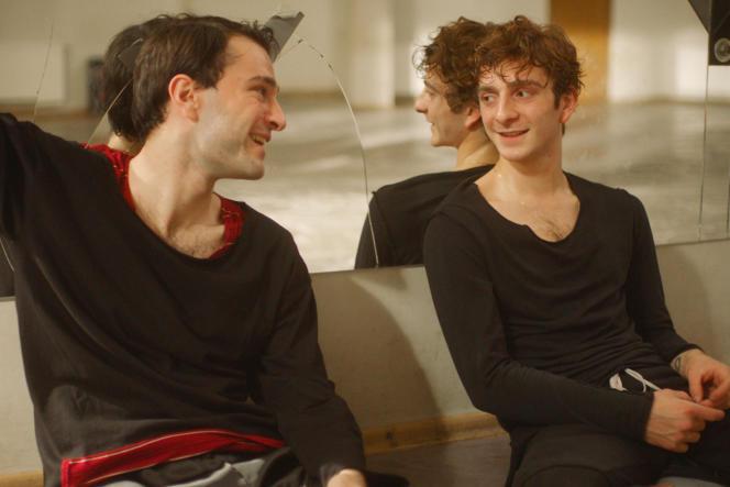 Levan Gelbakhiani et Bachi Valishvili dans« Et puis nous danserons» («And Then We Danced»), du réalisateur géorgien Levan Akin.