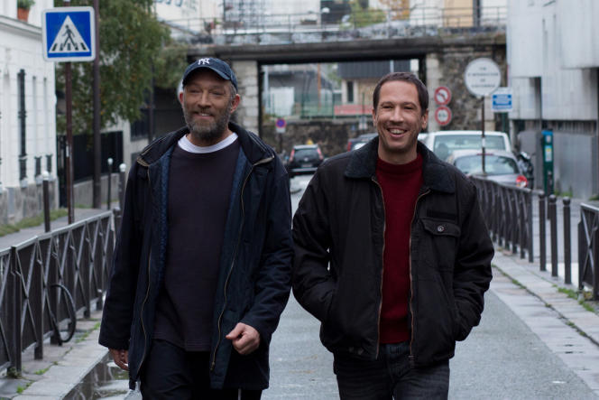 Vincent Cassel et Reda Kateb dans« Hors normes», d'Olivier Nakache et Eric Toledano.