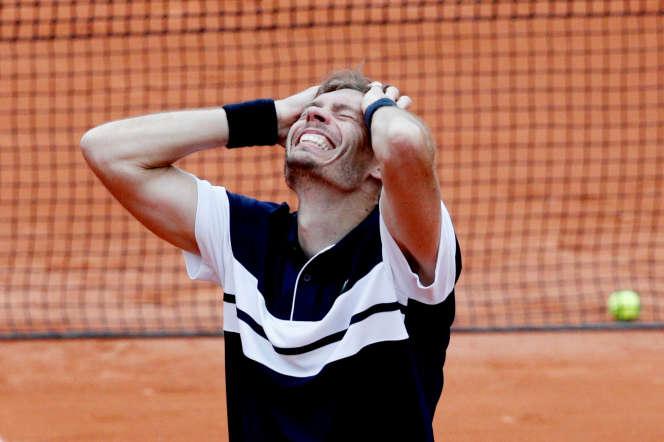 Nicolas Mahut a éliminé le demi-finaliste surprise de l'an dernier.