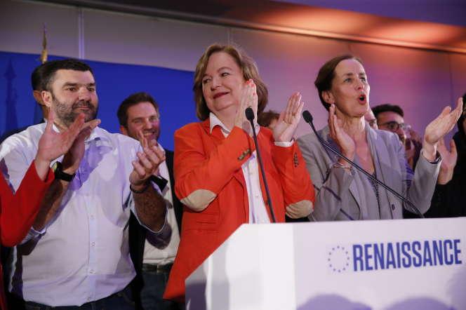 Nathalie Loiseau au siège de la République en marche, le 26 mai.