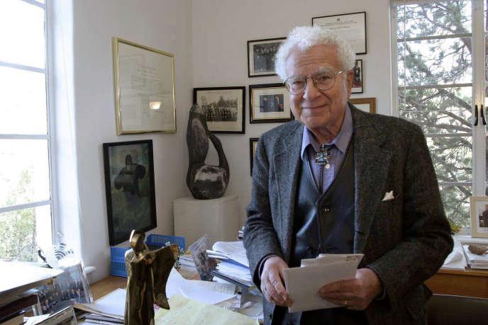 Murray Gell-Mann, à Santa Fe (Nouveau-Mexique), le 14 novembre 2003.