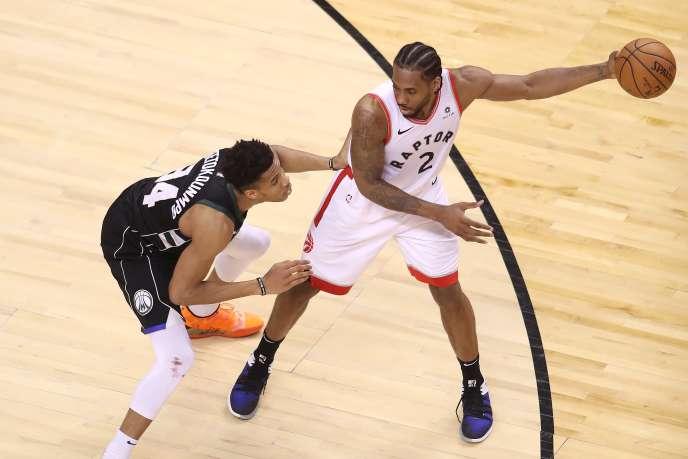 Impérial lors de ces playoffs, Kawhi Leonard a qualifié son équipe de Toronto pour les finales NBA.
