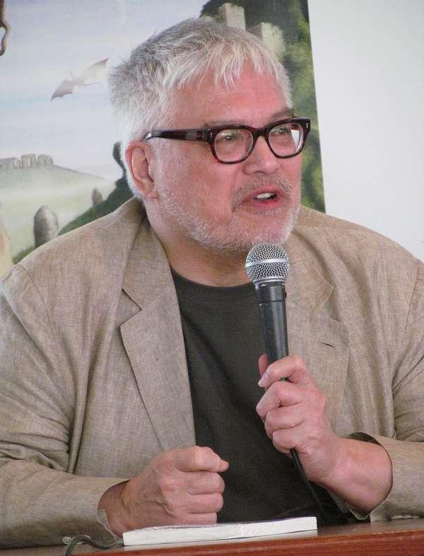 Jean-Michel Truong aux Imaginales 2015 à Epinal.